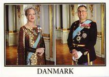 (251) Margrethe & Henrik (17 x 12 cm)