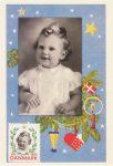 (463) Princess Margrethe, 1942 (modern postcard 17 x 12 cm)
