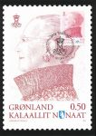 (514) Greenland maxicard Queen Margrethe, 2012