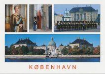 (517) Copenhagen/Queen Margrethe (17 x 12 cm)