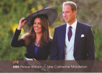 (1151) William & Catherine (17 x 12 cm)