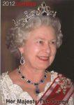 (1150) Queen Elizabeth (17 x 12 cm)