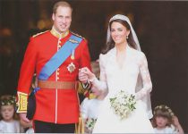(1263) Wedding Catherine & William, 29.04.11 (17 x 12 cm)
