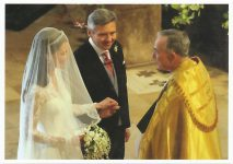 (1326) Wedding Catherine & William, 29.04.11 (17 x 12 cm)