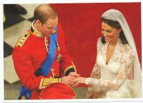 (1328) Wedding Catherine & William, 29.04.11 (17 x 12 cm)