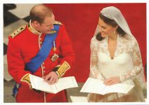 (1329) Wedding Catherine & William, 29.04.11 (17 x 12 cm)