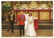 (1331) Wedding Catherine & William, 29.04.11 (17 x 12 cm)