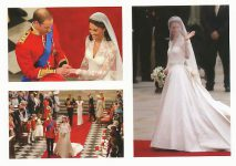(1333) Wedding Catherine & William, 29.04.11 (17 x 12 cm)