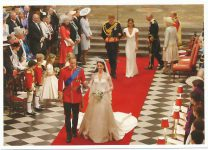 (1332) Wedding Catherine & William, 29.04.11 (17 x 12 cm)