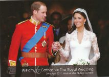 (1334) Wedding Catherine & William, 29.04.11 (17 x 12 cm)
