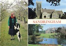 (246) Queen Elizabeth at Sandringham