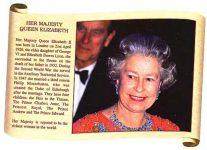 (264) Queen Elizabeth (17 x 12 cm)