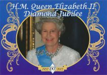 (1602) Queen Elizabeth Diamond Jubilee (15 x 10 cm)