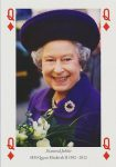 (1625) Queen Elizabeth Diamond Jubilee (small card 15 x 10,5 cm)
