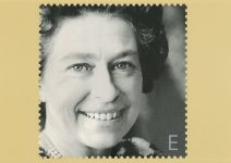 (1720) Stamp card on occasion of the Queen's Golden Jubilee, 2002