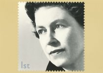 (1719) Stamp card on occasion of the Queen's Golden Jubilee, 2002