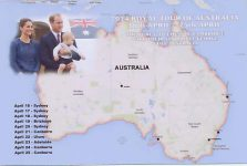 (1765) Catherine, William & George, Tour of Australia, April 2014