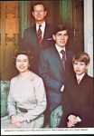 (9) Elizabeth, Philip & 2 youngest sons - Colourmaster PLX 9983