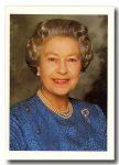 (68) Queen Elizabeth (17 x 12 cm)