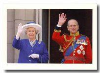 (25) Elizabeth & Philip (17 x 12 cm)