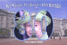 (175) Queen Elizabeth 80 years old, 2006