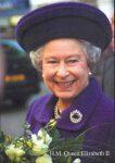 (16) Elizabeth II (large card 17 x 12 cm)