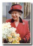 (37) Queen Elizabeth (17 x 12 cm)