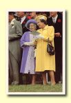 (295) Queen Elizabeth & The Queen Mother (17 x 12 cm)