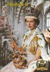 (75) Queen Elizabeth (17 x 12 cm)