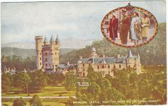 (847) The Royal Family (1940's)/Balmoral Castle
