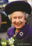 (860) Queen Elizabeth (15 x 10,5 cm)
