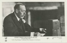 (901) King George V, 1932 (modern postcard)