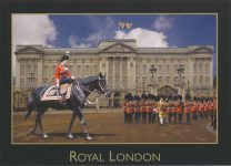(951) Queen Elizabeth/Buckingham Palace (17 x 12 cm)