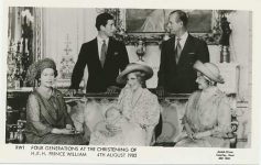 (987) Christening of prince William, 1982 (14 x 9 cm)