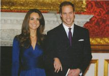 (1011) Engagement Kate & William (17 x 12 cm)