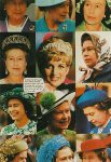(1017) Memorial card princess Diana (French postcard)