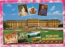 (3) Schloss Schönbrunn/Elisabeth & Franz Joseph (17 x 12 cm)