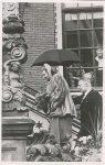 (261) Queen Juliana in Friesland, 1950