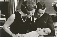 (301) Beatrix & Claus with Willem-Alexander, 1967