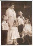 (8) Victoria Adelheid & children - SCG#14 (modern card)