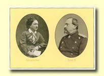 (20) Ernst II & Alexandrine of Saxe-Coburg-Gotha (modern postcard)