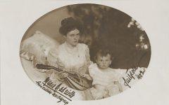 (182) Marie Gabrielle of Bavaria & eldsest son, 1902