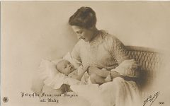(231) Princess Franz of Bavaria with eldest daughter