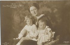 (233) Princess Franz of Bavaria with children