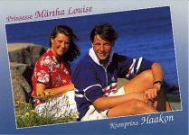 (130) Märtha Louise & Haakon, 1991 (15 x 10 cm)