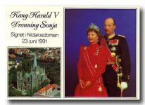 (162) Blessing ceremony 1991 (15 x 10 cm)