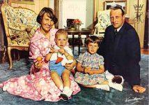 (76) Crown Prince family, 1975