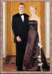 (22) Mette-Marit & Haakon, 2001 (17 x 12 cm)