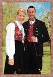 (24) Mette-Marit & Haakon, 2001 (17 x 12 cm)