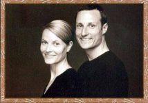 (27) Mette-Marit & Haakon, 2001 (17 x 12 cm)